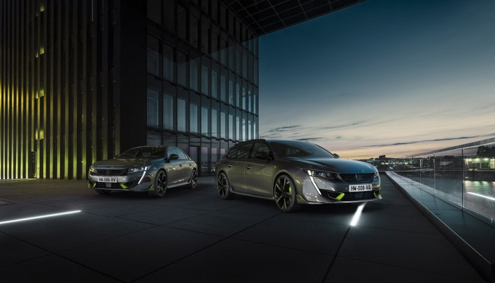 Photo Peugeot 508 Peugeot Sport Engineered berline et SW 2020