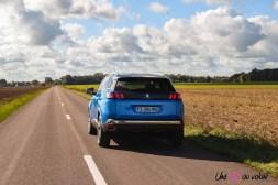 Photo arrière Peugeot 3008 restylée