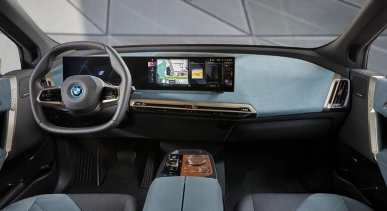 Photo intérieur BMW iX 2021