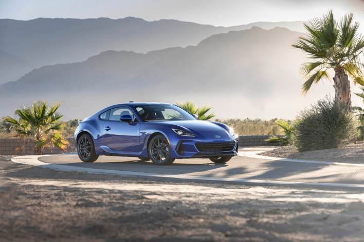 Photo face avant Subaru BRZ 2020
