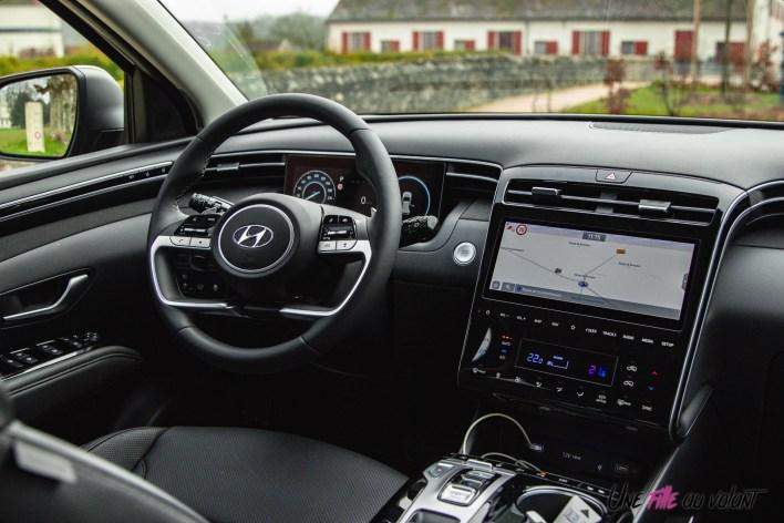 Photo intérieur Hyundai Tucson 2020