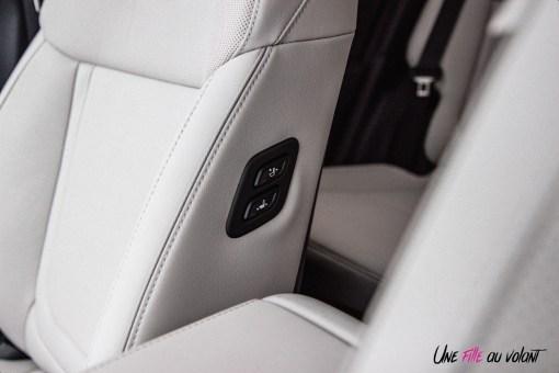 Photo réglage sièges Hyundai Tucson 2020