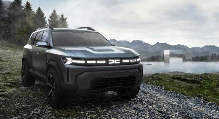 Photo SUV Dacia Bigster Concept 2021