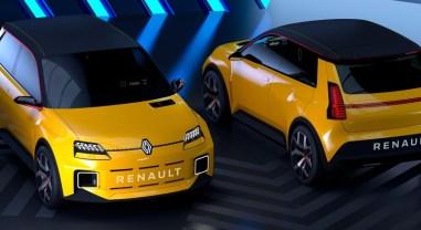 Photo Renault 5 Prototype électrique 2021