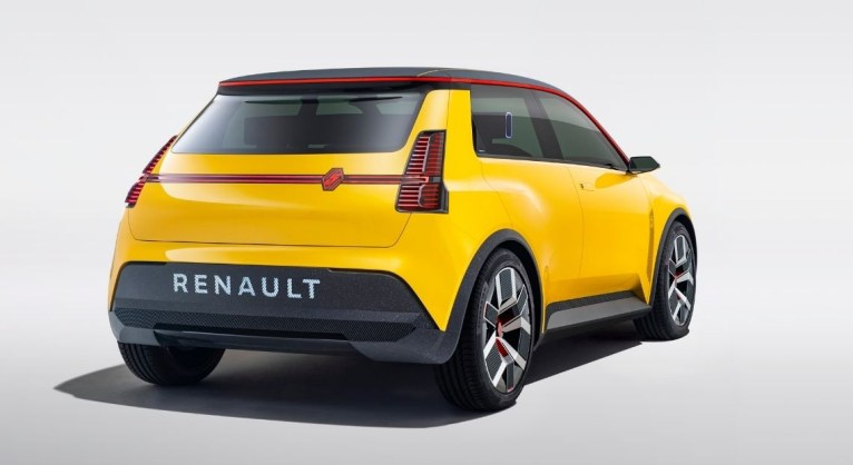Photo arrière Renault 5 Prototype 2021