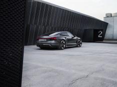 Photo face arrière Audi E-Tron GT Quattro 2021