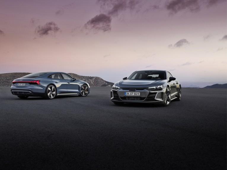 Photo nouvelle Audi E-Tron GT Quattro électrique 2021