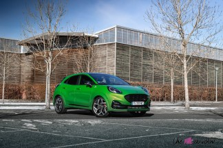 Photo Ford Puma ST Mean Green 2021