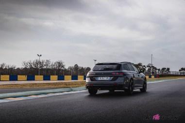 Photo arrière Peugeot 508 PSE SW 2021