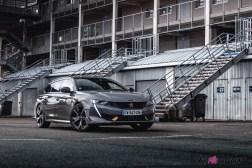 Photo Peugeot 508 PSE grise hybride rechargeable 2021