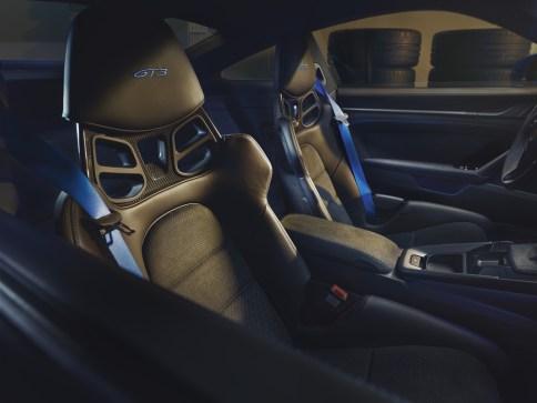 Photo intérieur Porsche 911 GT3 2021
