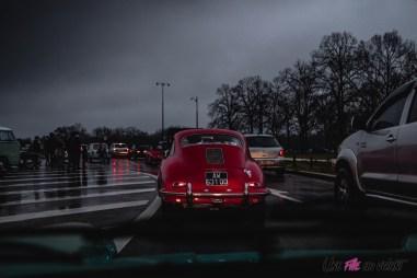 Photo Traversée de Paris hivernale 2021 Porsche 356