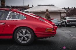 Photo Traversée de Paris hivernale 2021 arrière Porsche 911