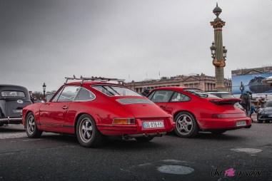 Photo Traversée de Paris hivernale 2021 Porsche 911 964