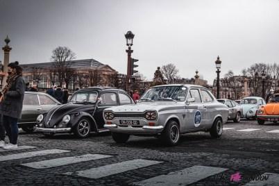 Photo Traversée de Paris hivernale 2021 volkswagen coccinelle