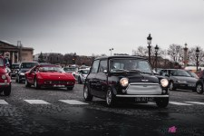 Photo Traversée de Paris hivernale 2021 Mini Ferrari