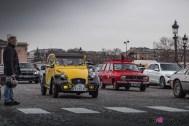 Photo Traversée de Paris hivernale 2021 Citroën 2 CV