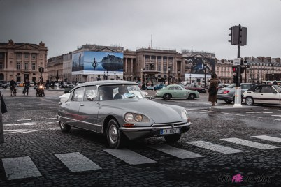 Photo Traversée de Paris hivernale 2021 Citroën DS