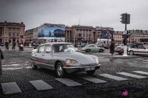 Photo Traversée de Paris hivernale 2021 Citroën DS