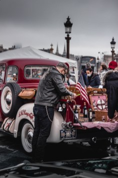 Photo Traversée de Paris hivernale 2021 pique-nique ambiance