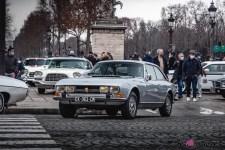 Photo Traversée de Paris hivernale 2021 Peugeot 504