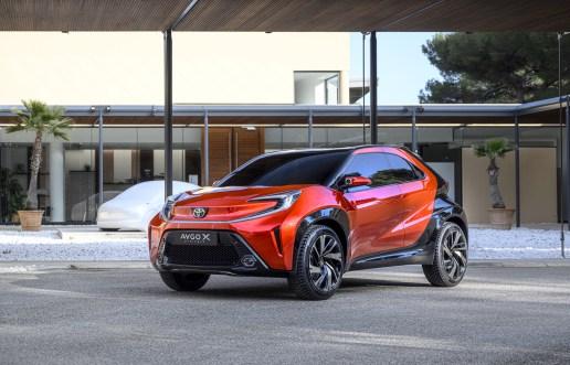 Photo statique Toyota Aygo X Prologue 2021