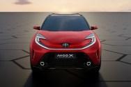 Photo face avant Toyota Aygo X Prologue 2021