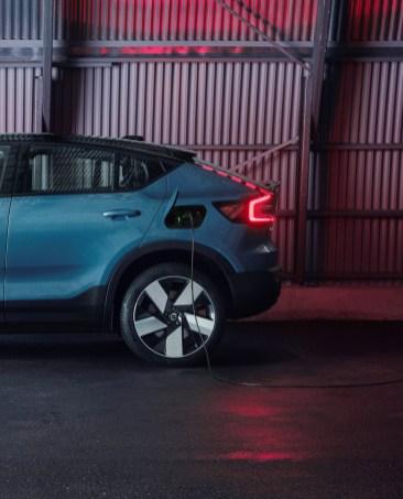 Photo prise de recharge Volvo C40 2021