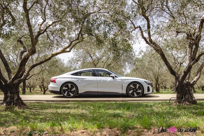 Photo profil Audi e-tron GT Quattro 2021