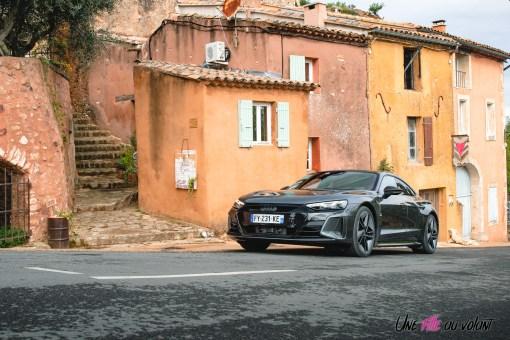 Photo essai Audi RS e-tron GT 2021