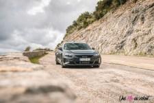 Photo Audi RS e-tron GT gris daytona 2021