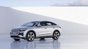 Photo statique Audi Q4 e-tron 2021