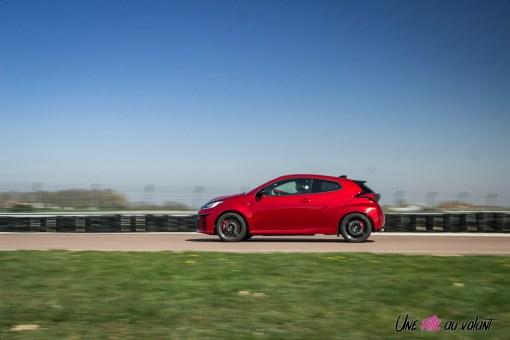 Photo profil Toyota GR Yaris rouge 2021