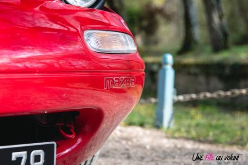 Photo sticker Mazda MX-5 NA