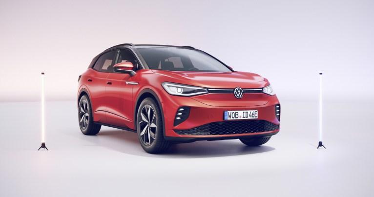 Photo nouvelle Volkswagen ID.4 IDX électrique 2021