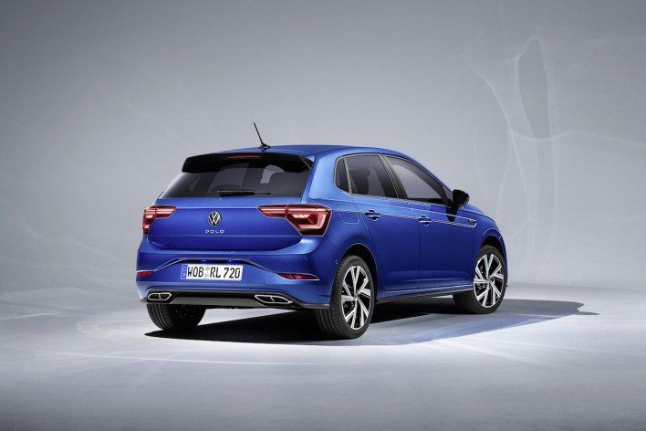 Photo arrière Volkswagen Polo restylee 2021