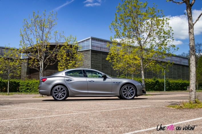 Photo profil Maserati Ghibli hybride 2021