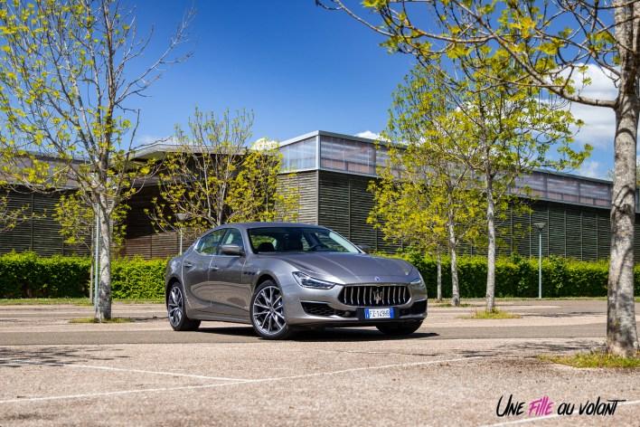 Photo Maserati Ghibli hybride 48 volts 2021