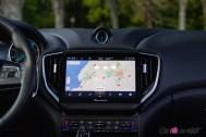 Photo écran tactile Maserati Ghibli hybride 2021