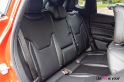 Photo banquette arrière Jeep Compass 4xe hybride rechargeable