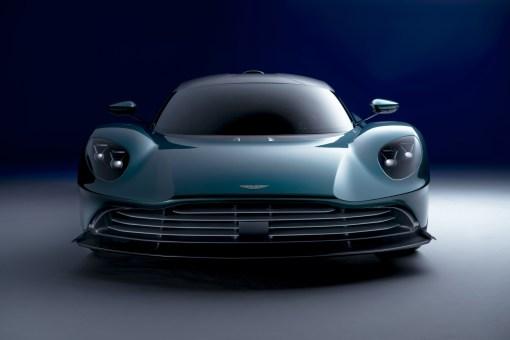 Photo avant Aston Martin Valhalla 2021