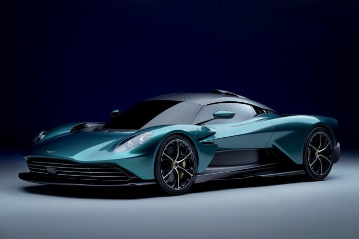 Photo nouvelle Aston Martin Valhalla 2021