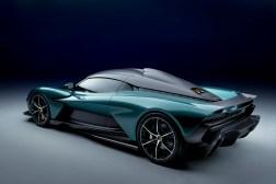 Photo arrière Aston Martin Valhalla 2021