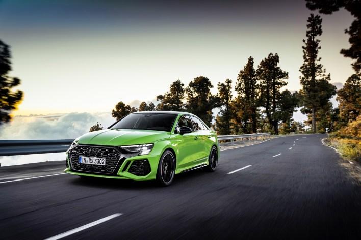 Photo nouvelle Audi RS 3 Kyalami 2021