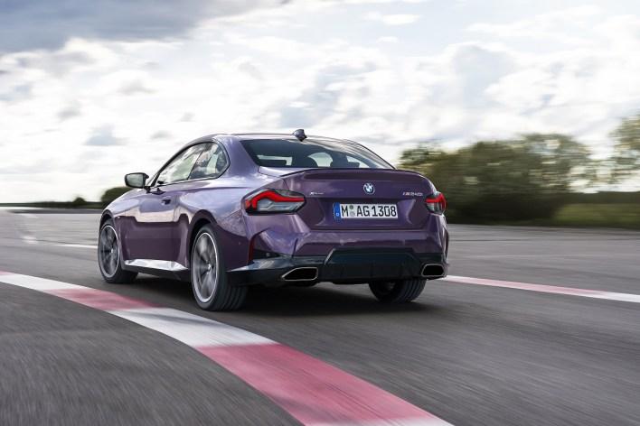 Photo arrière BMW Serie 2 Coupe 2021