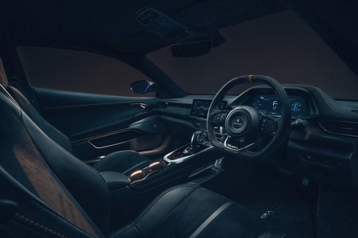 Photo intérieur Lotus Emira 2021