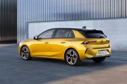 Photo arrière Opel Astra 2021