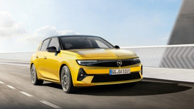 Photo dynamique Opel Astra 2021