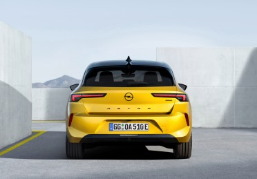 Photo arrière statique Opel Astra 2021