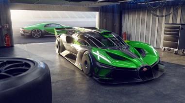 Photo Bugatti Bolide verte 2021